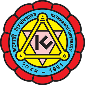 kathmandu university logo nepal on transparent background