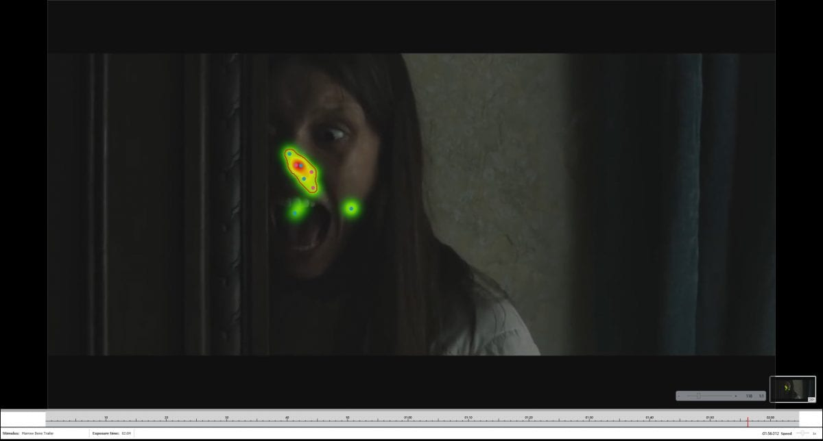 Marrow Bone trailer eye tracking