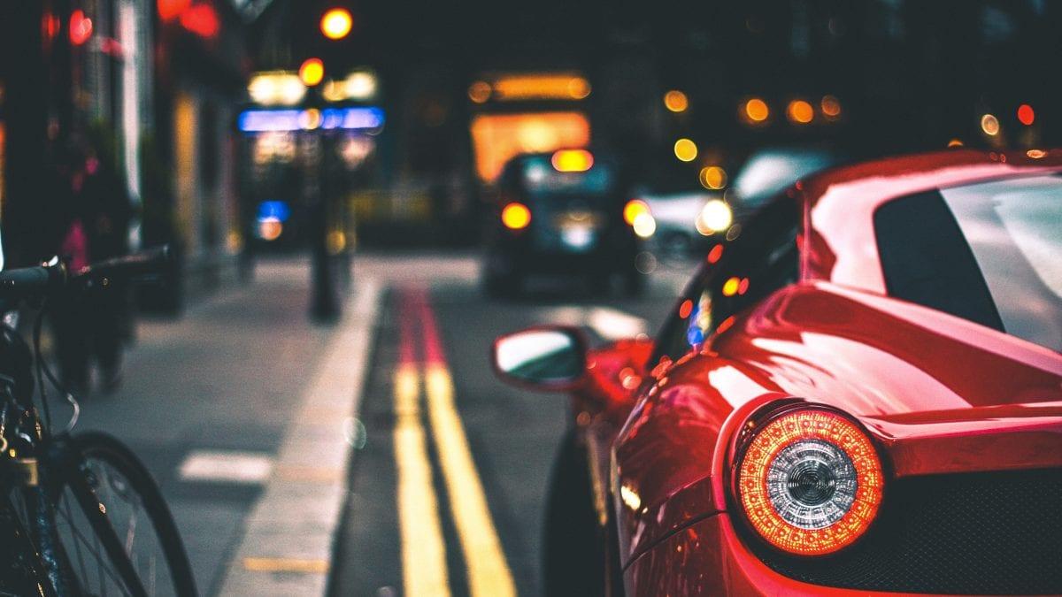sports car salient