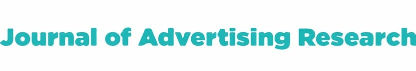 journal of advertising research