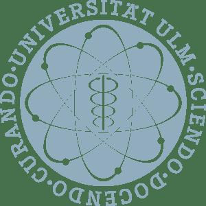 Ulm university logo on transparent background