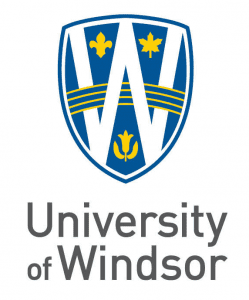 University of Windsor Logo on white background
