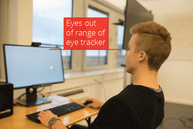 eye tracking distance