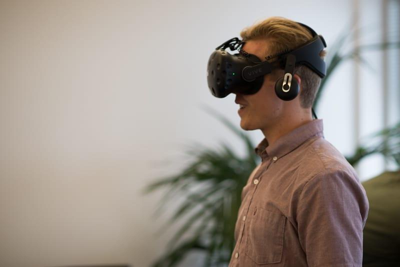 VR facial expressions