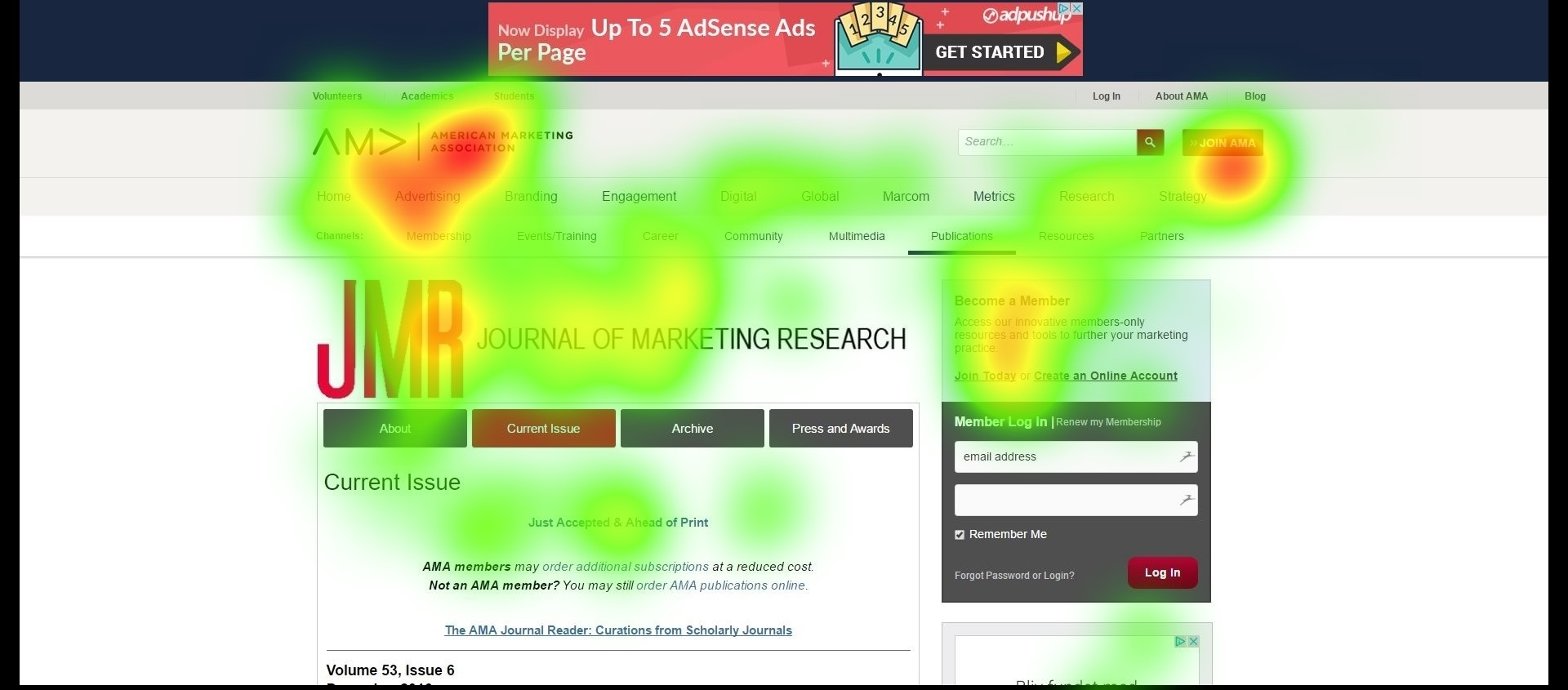 neuromarketing heatmap
