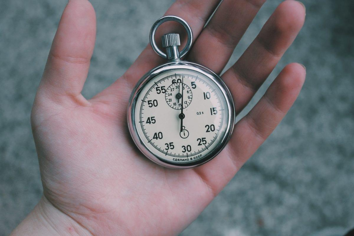 stopwatch bargh study
