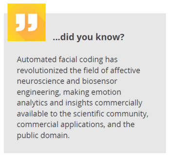 did you know - automated facial coding