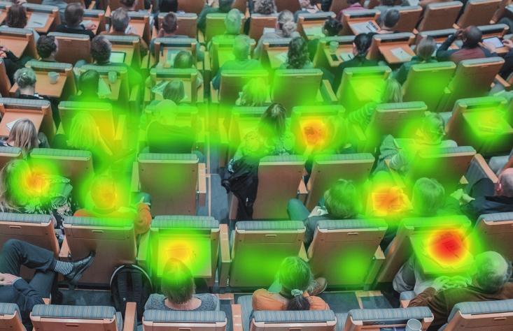 eye tracking in a social setting