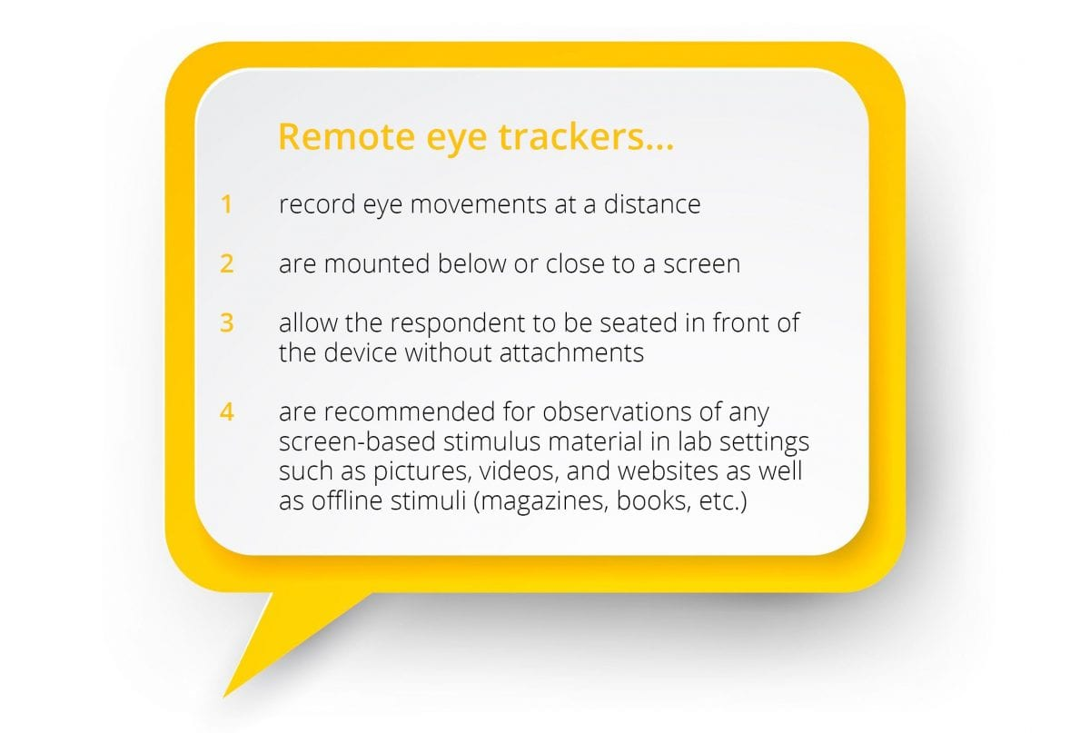 what remote eye trackers do