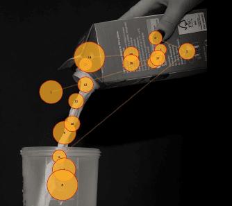 pouring milk stimuli