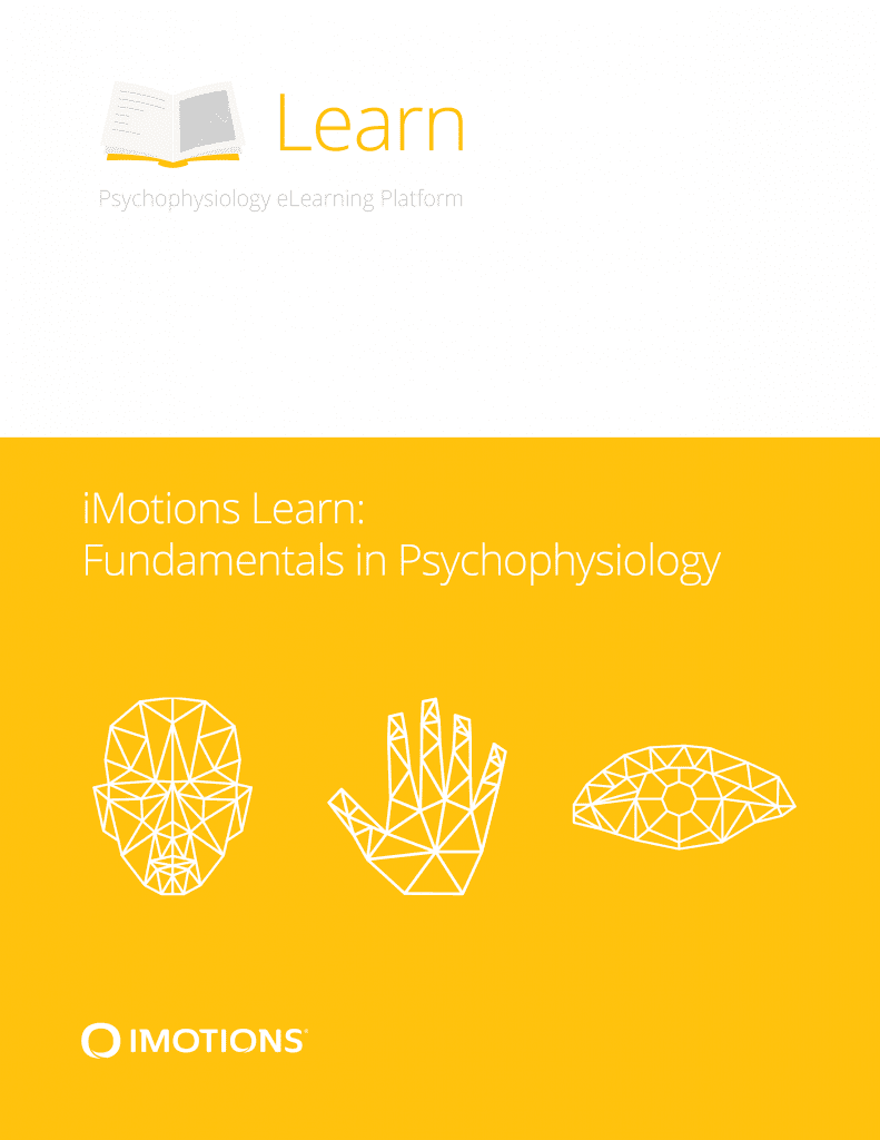 imotions Learn fundamentals in psychophysiology cover