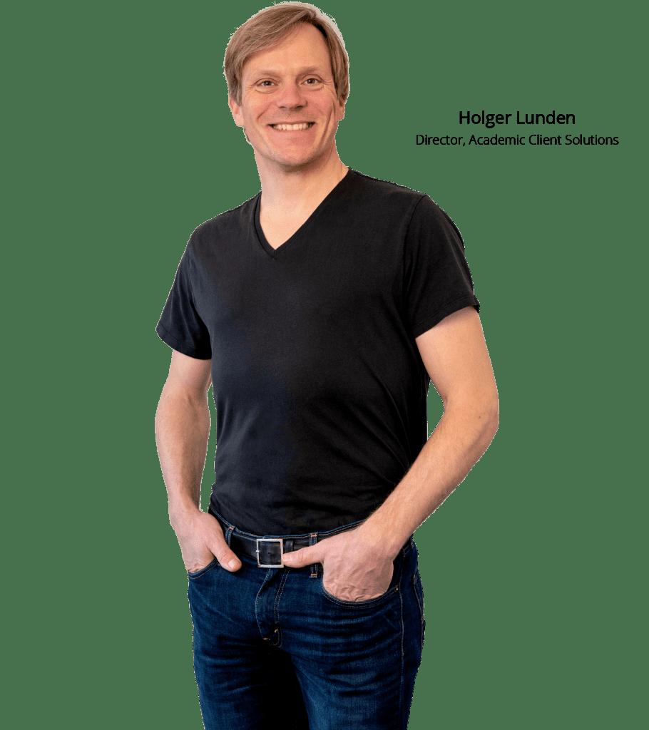 Employee portrait (Holger)