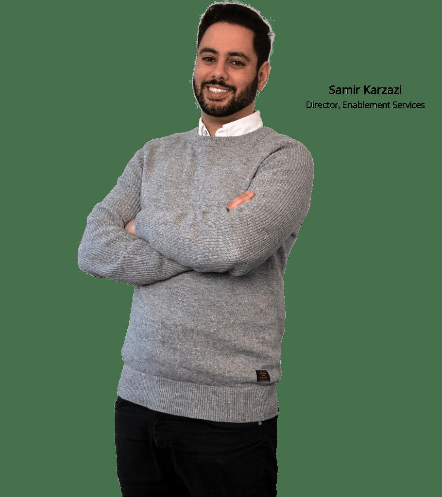 Employee portrait (Samir)
