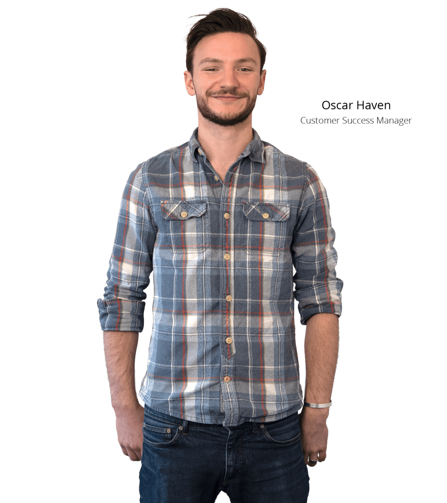 Employee Photo Oscar Haven Customer Success Manager