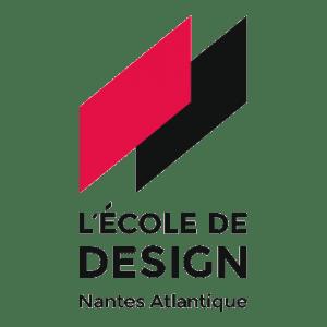 École de Design Nantes Atlantique Logo