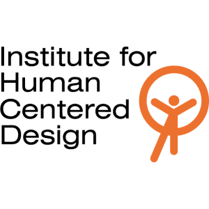 Institute for Human Centered Design Vertical Logo