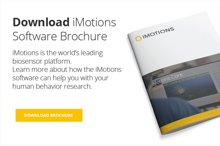 download brochure and iMotions core cover