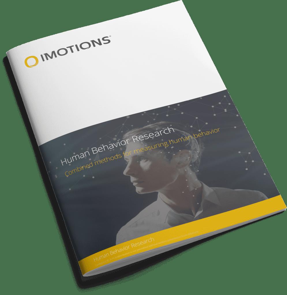human behavior research brochure cover