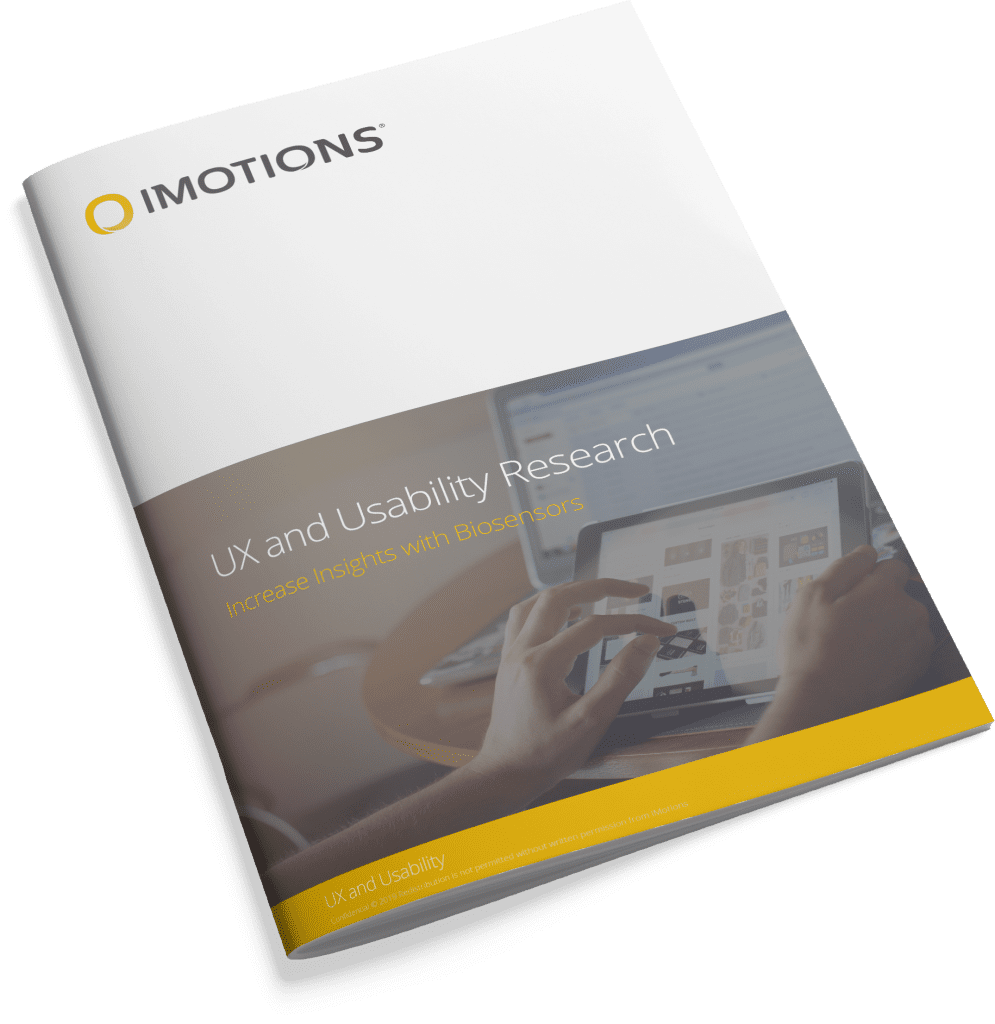 iMotions UX Brochure cover image
