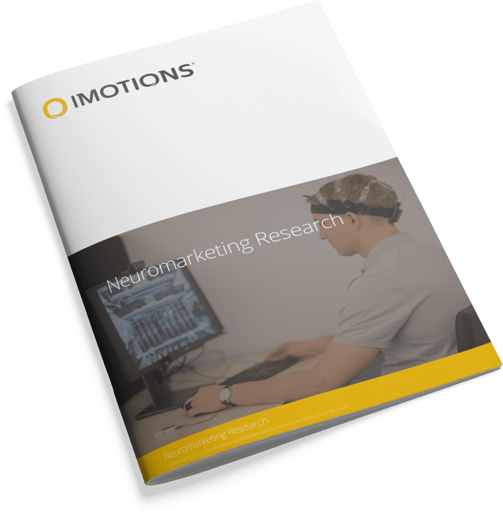 iMotions Neuromarketing Brochure cover
