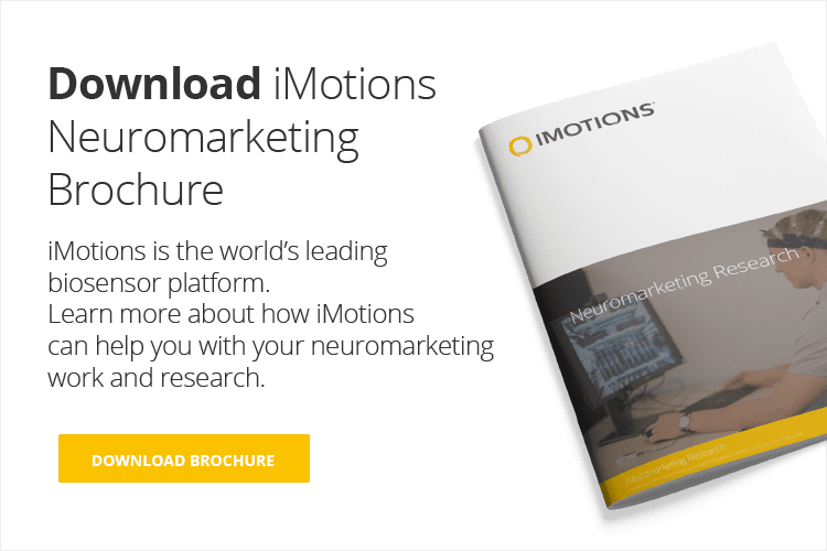 Neuromarketing brochure call to action