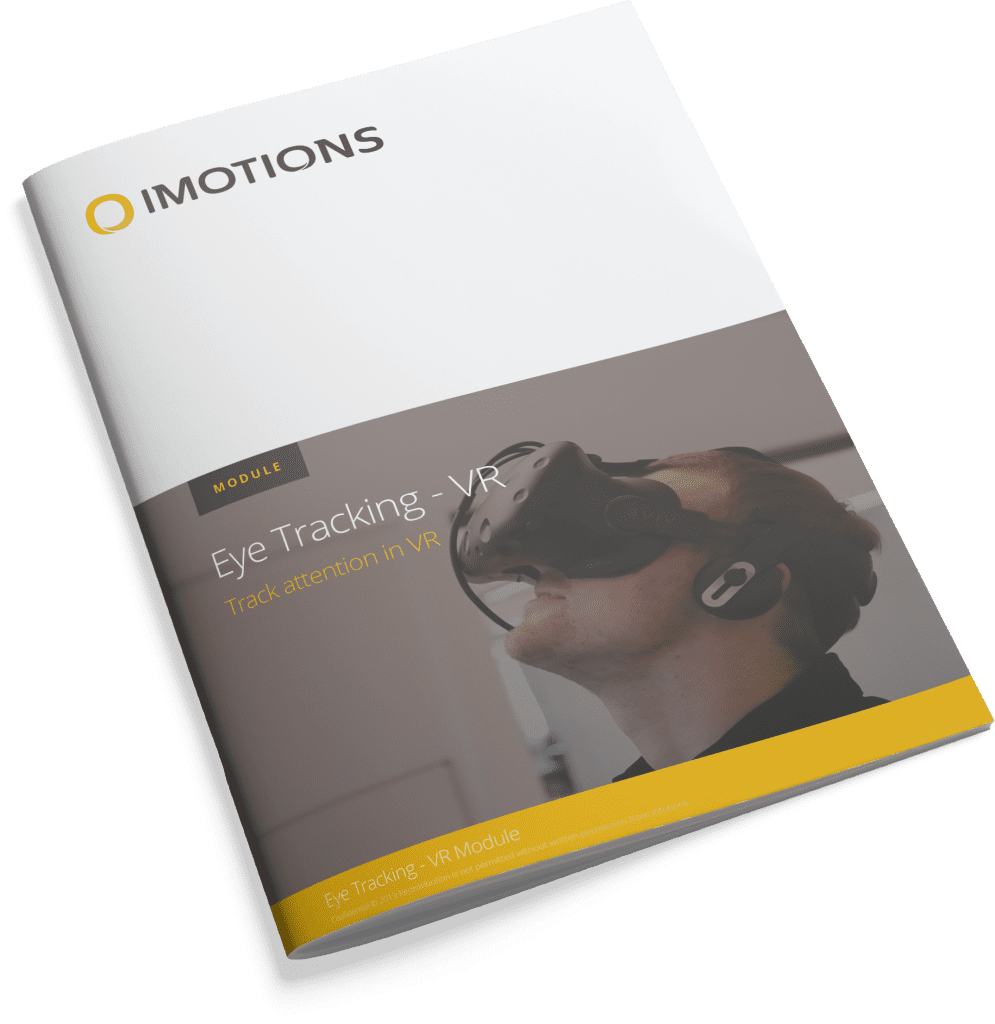 iMotions Brochure cover VR Eye Tracking