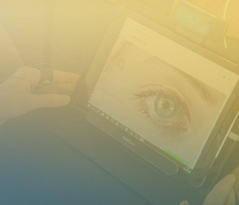 tobii nano eye tracker with iPad