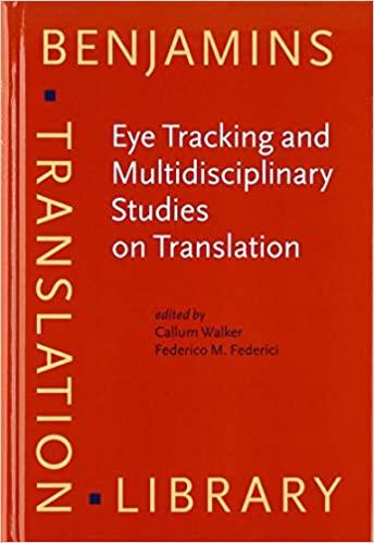 Eye Tracking and Multidisciplinary Studies on Translation Book