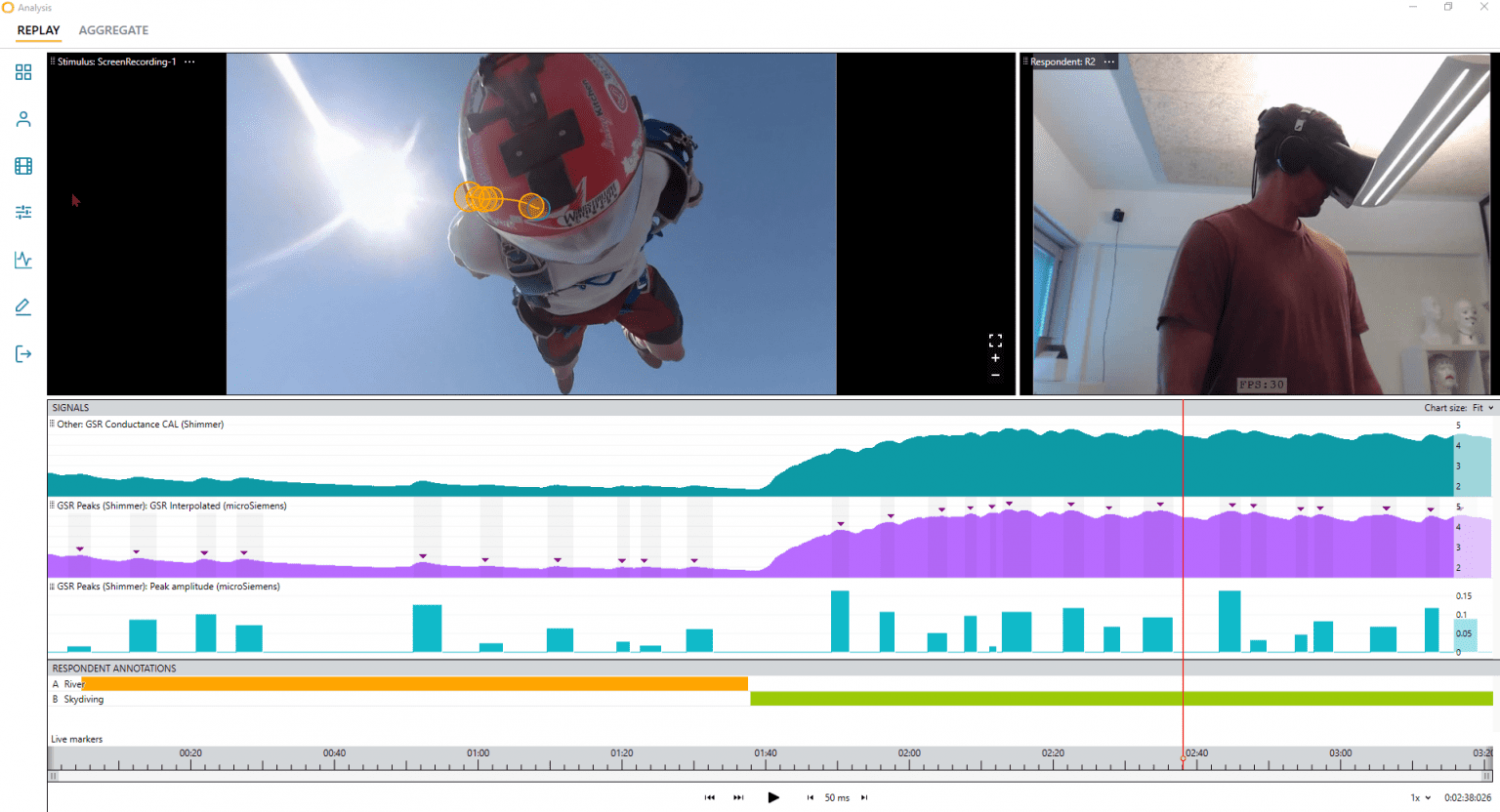 Skydiver - Multimodality