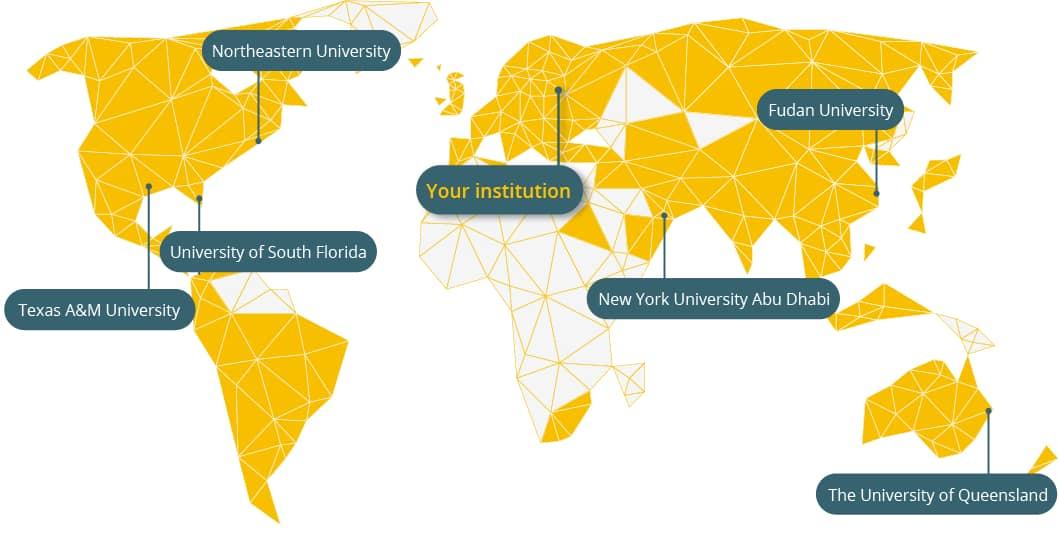 Stylized Research Map